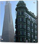 Downtown San Francisco 2 Acrylic Print
