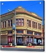 Downtown Shiner Texas Acrylic Print