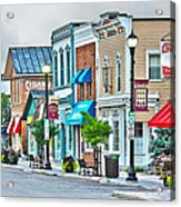 Downtown Waterville Acrylic Print