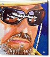 Dr John Acrylic Print by Terry J Marks Sr