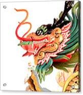 Dragon Acrylic Print by Panyanon Hankhampa