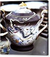 Dragon Satsuma Bowl Acrylic Print