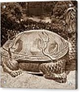 Dragon Turtle Figure Acrylic Print