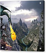 Dragon Valley Acrylic Print