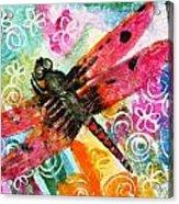 Dragonfly Fairy II Acrylic Print