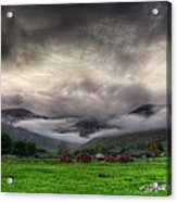 Dramatic Clouds Acrylic Print