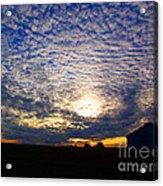 Dramatic Sunset Acrylic Print