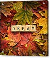Dream-autumn Acrylic Print