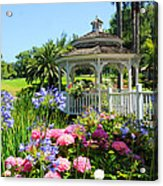 Dream Gazebo Acrylic Print