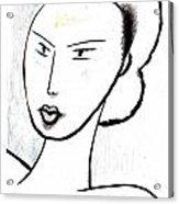 Dream Girl Acrylic Print by Al Goldfarb