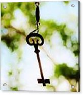 Dream Key Acrylic Print