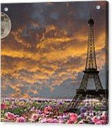 Dreaming Of Paris Acrylic Print