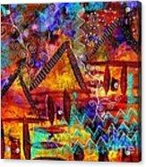 Dreamland - My Imaginary Getaway Acrylic Print