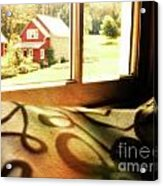 Dreams From The Window Seat Acrylic Print