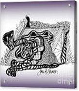Dreams Of Metamorphosis Acrylic Print