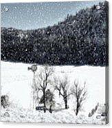 Dreams Of Snow  Acrylic Print