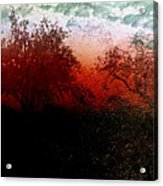 Dreamscape Sunset - Abstract Acrylic Print