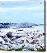 Dreamy Coastal Scene Acrylic Print