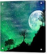 Dreamy Night Acrylic Print