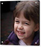 Drena Smiles Acrylic Print