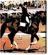Dressage Competition Acrylic Print