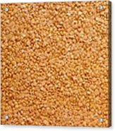 Dried Lentils, A Type Of Pulse Acrylic Print