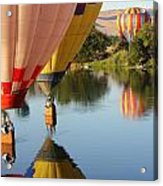 Drifting Along On The Yakima River Acrylic Print