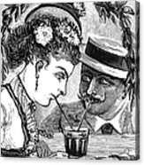 Drinking, 1875 Acrylic Print