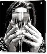 Drinks On Me Acrylic Print