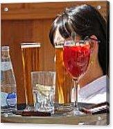 Drinks Sir Acrylic Print
