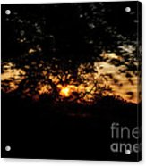 Drive By Sunset Acrylic Print