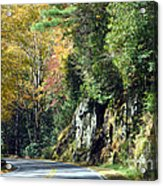 Drive In The Mountains Acrylic Print
