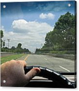 Drivers Window Acrylic Print