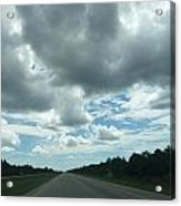 Driving Through The Clouds Acrylic Print