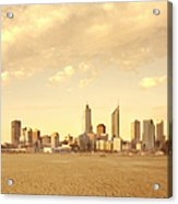 Drought-affected City Acrylic Print