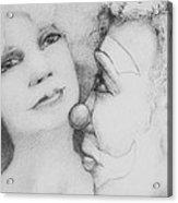 Drowning Muse Acrylic Print by Louis Gleason