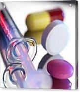 Drugs Acrylic Print by Tek Image