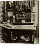 Drugstore Soda Fountain - New Orleans Acrylic Print