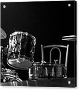 Drummer Set Acrylic Print