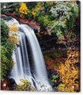 Dry Falls Or Upper Cullasaja Falls Acrylic Print