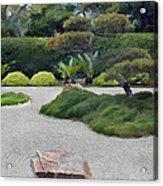 Dry Garden Sea Acrylic Print