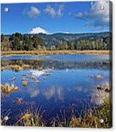 Dry Lagoon Panorama Acrylic Print