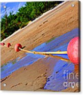Dry Lake Acrylic Print