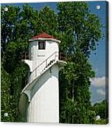 Dry Land Lighthouse 1 Acrylic Print