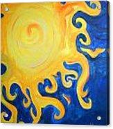 du Soleil Acrylic Print