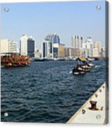 Dubai Pier Acrylic Print