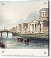 Dublin, 1842 Acrylic Print