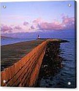 Dublin Bay, Co Dublin, Ireland East Acrylic Print