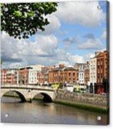 Dublin Cityscape Acrylic Print