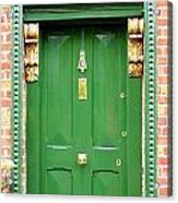 Dublin Door Three Acrylic Print